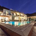 Night view of Hotel Ape Regina - Ischia