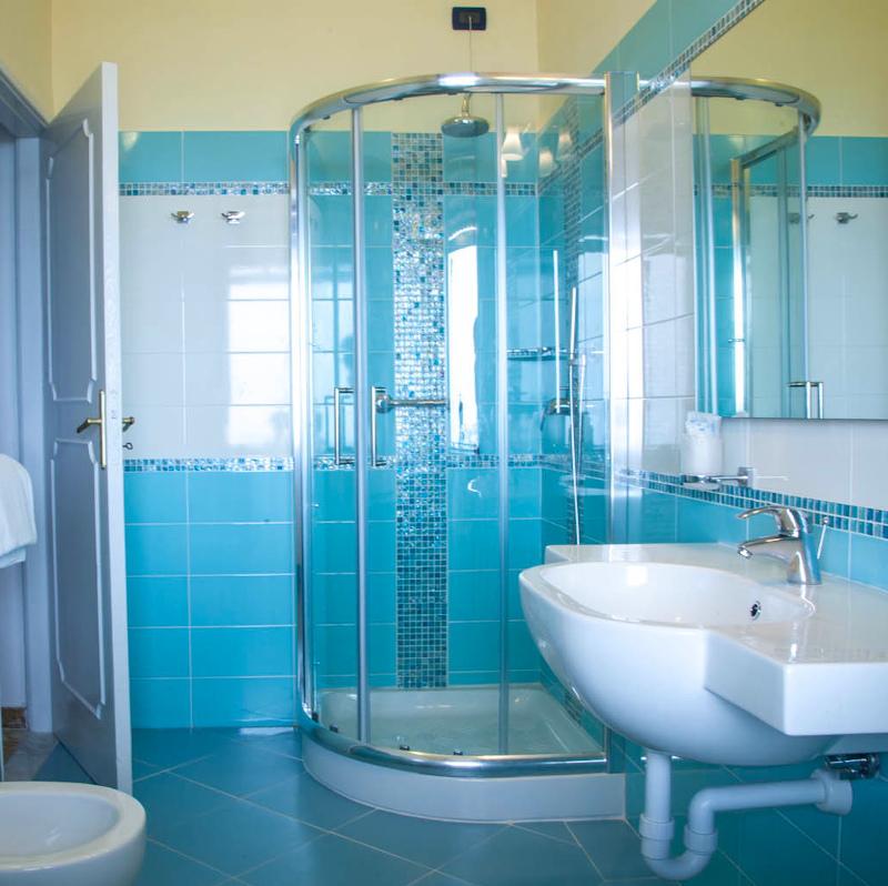 Bagno tipo di camera vista mare comfort