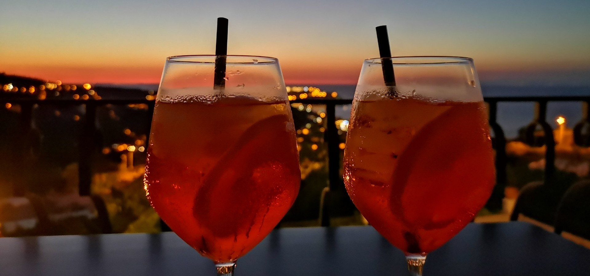 Sunset spritz dalla camera Vista mare comfort