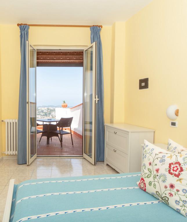 Camera con vista - Hotel Ape Regina Ischia