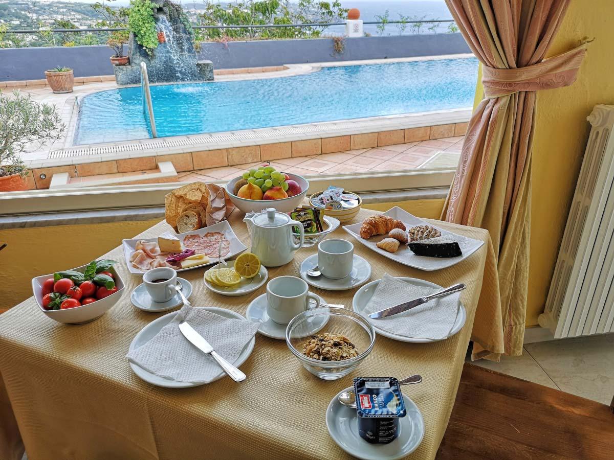 La vostra colazione è pronta.
